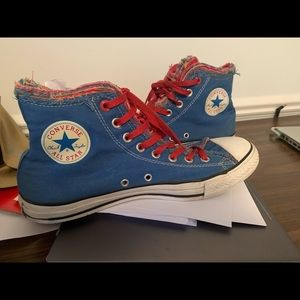 Rare Converse Red Chucks Size 10 M or 12 Woman